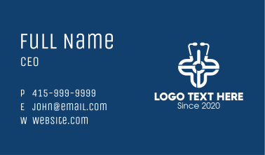 Medical Healthcare Clinic Business Card