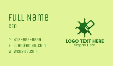 Mobile Phone Virus  Business Card