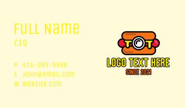 Hot Dog Camera Business Card