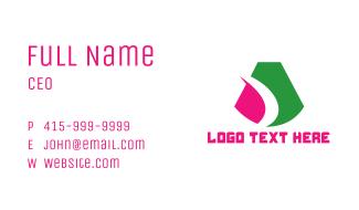 Modern Bold A Business Card