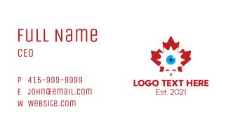 Canadian Tech Surveillance Business Card