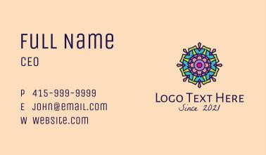 Colorful Lantern  Business Card