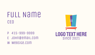 Multicolor Cabinet Furniture  Business Card