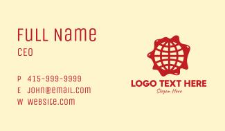 Global Paint Distributor Company Business Card