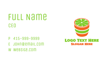 Lime Shot Business Card