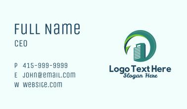 Condominium Tower Business Card