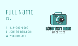 Media Projector  Business Card
