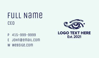 Optical Eye Clinic  Business Card