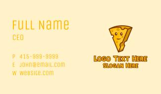 Swiss Cheese Mascot Business Card