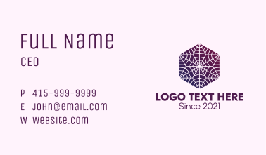 Flower Lantern Decoration Business Card