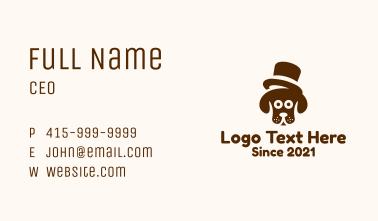Top Hat Hound Business Card