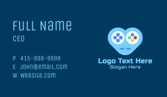 Heart Gamepad  Business Card