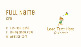 Happy Kid Kite Business Card