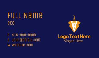 Pasta Tuxedo Dining Business Card