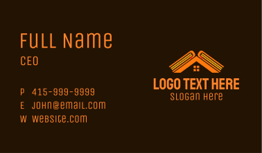 House Realty Book Business Card