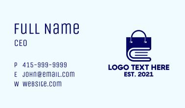 Shopping Bag Book Business Card