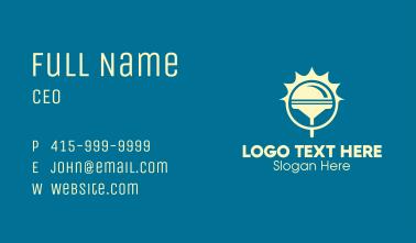 Sun Squeegee Business Card