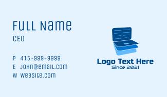 Online Laptop Files  Business Card