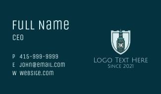 Big Ben Shield Landmark Business Card