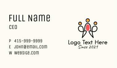 Family Planning Clinic  Business Card