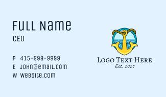 Ocean Anchor Sailing  Business Card