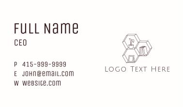 Interior Decor Shelf  Business Card