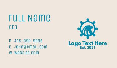 Eagle Ship Helm  Business Card