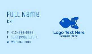 Blue Fish Gamepad Business Card