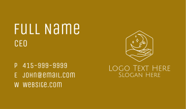 White Moon Jewelry Business Card