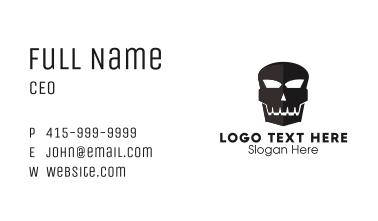 Black Skull Business Card