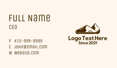 Summit Mountain Shoe Business Card