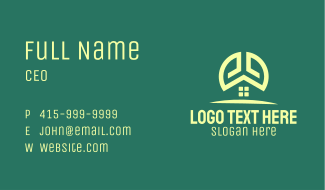 Home Realty Business Card