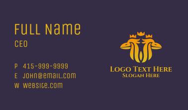 Twin Royal Phoenix Business Card