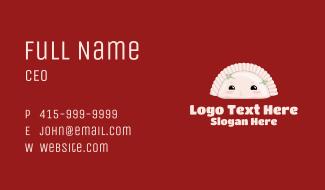Cute Dumpling Restaurant   Business Card