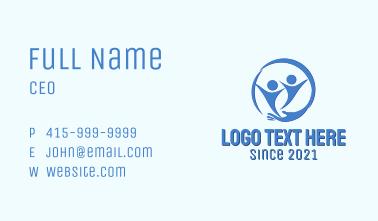 Blue Children Center Business Card