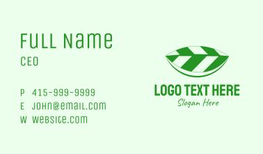 Tea Leaf Boat Business Card