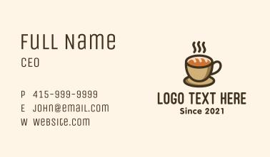 Coffee Bread Business Card