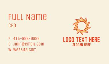 Sun Stick Business Card