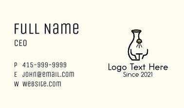 Vase Diner Restaurant  Business Card