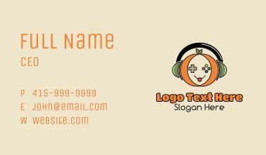 Pumpkin Gamer Business Card