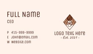 Diamond Mountain Coffee Business Card