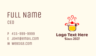 Hot Soup Kitchen  Business Card