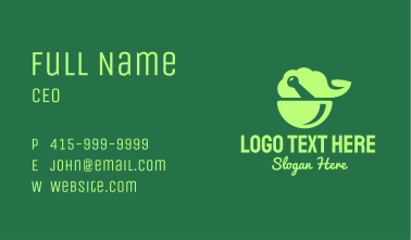 Green Natural Herbal Pharmacy Business Card