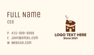 Donut House Business Card