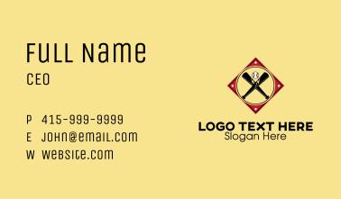 Baseball Emblem  Business Card