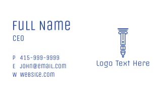 Greek Vape Business Card