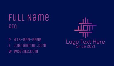 Digital Network Circuitry  Business Card