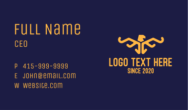 Egpytian Eagle Business Card