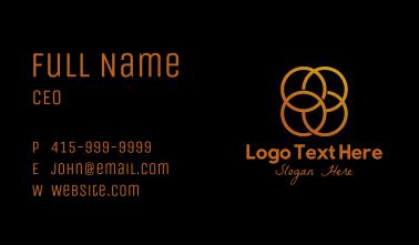 Golden Circles Business Card