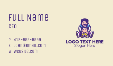 Father Baby Parenting  Business Card